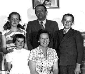 Elaine Gillespie and Family